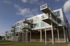 Arquitetura geométrica moderna Fotografia de Stock Royalty Free