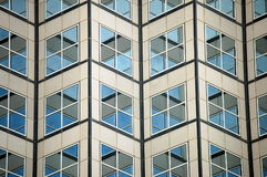Arquitetura geométrica Foto de Stock