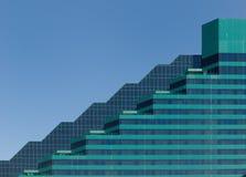 Arquitetura gráfica verde imagens de stock