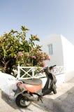 Arquitetura grega cyclades da casa do console Fotografia de Stock