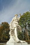 Arquitetura grega da estátua fotografia de stock royalty free