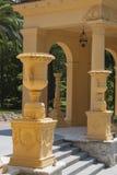 Arquitetura grega no dia ensolarado Imagem de Stock Royalty Free