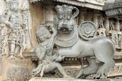 Arquitetura Hindu Fotografia de Stock Royalty Free