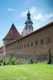 Arquitetura histórica da cidade de Lviv Fotos de Stock Royalty Free