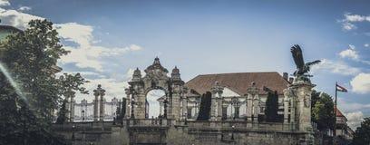 Arquitetura histórica de Budapest imagens de stock royalty free
