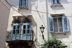 Arquitetura histórica de Piran, Eslovênia imagem de stock royalty free
