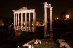 Arquitetura histórica de Roma Fotografia de Stock