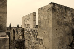 Arquitetura histórica do vintage imagem de stock