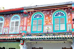 Arquitetura histórica na rua de Jonker Fotos de Stock Royalty Free