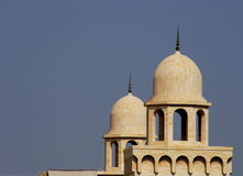 Arquitetura histórica, túmulos gêmeos. Foto de Stock Royalty Free