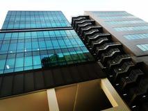 Arquitetura industrial moderna do escritório Imagens de Stock Royalty Free