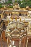 Palácio interior do vento de Jaipur Imagens de Stock Royalty Free