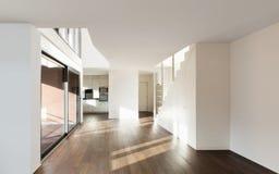 Arquitetura, interior, casa vazia imagens de stock royalty free