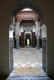 Arquitetura interna marroquina Fotografia de Stock Royalty Free