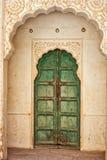 Arquitetura intrincada em Jaipur antigo fotos de stock royalty free