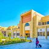 A arquitetura iraniana moderna, Yazd fotos de stock royalty free