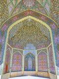 Arquitetura islâmica de Shiraz, Irã Imagens de Stock Royalty Free