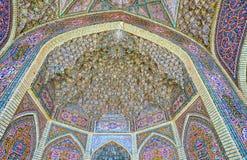Arquitetura islâmica tradicional, Shiraz, Irã Fotos de Stock