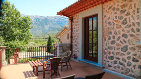 Arquitetura mediterrânea de Mallorca, Finca Fotografia de Stock
