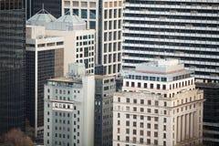 Arquitetura Melbourne da cidade Imagem de Stock Royalty Free