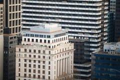 Arquitetura Melbourne da cidade Foto de Stock Royalty Free