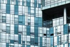 Arquitetura moderna abstraia o fundo Imagem de Stock