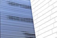 Arquitetura moderna abstrata Imagem de Stock Royalty Free