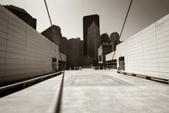 Arquitetura moderna abstrata foto de stock royalty free