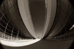 Arquitetura moderna abstrata foto de stock