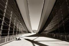 Arquitetura moderna abstrata imagens de stock royalty free