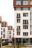 Arquitetura moderna Alojamento social Fotografia de Stock Royalty Free