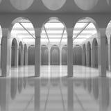 Arquitetura moderna com elementos clássicos Fotos de Stock