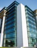 Arquitetura moderna: Concreto, aço e vidro Fotografia de Stock