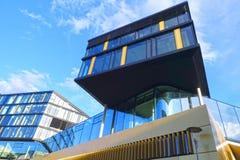 Arquitetura moderna da construção, Aix-la-Chapelle, Alemanha Fotos de Stock Royalty Free