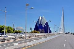 Arquitetura moderna da ponte imagens de stock