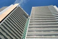Arquitetura moderna de Barcelona Fotografia de Stock