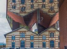 A arquitetura moderna de Krakow, Polônia fotografia de stock royalty free