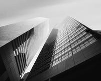 Arquitetura moderna de Manhattan Fotos de Stock