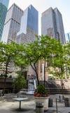 Arquitetura moderna de Manhattan Fotografia de Stock Royalty Free