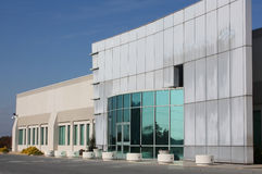 Arquitetura moderna do edifício Foto de Stock Royalty Free