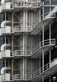 Arquitetura moderna do metal da construção Foto de Stock