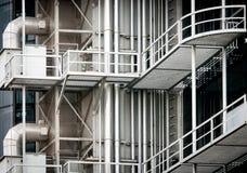 Arquitetura moderna do metal da construção Fotografia de Stock Royalty Free