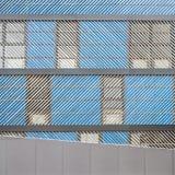 Arquitetura moderna do minimalismo Fotografia de Stock Royalty Free