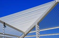 Arquitetura moderna do telhado imagem de stock