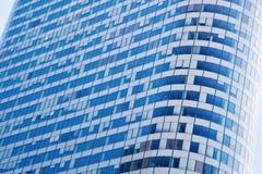 Arquitetura moderna dos arranha-céus do negócio Fotografia de Stock Royalty Free