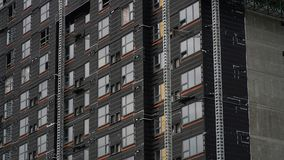 Arquitetura moderna e construção moderna Fotografia de Stock
