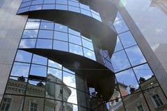 Arquitetura moderna e velha Fotografia de Stock