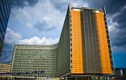 Arquitetura moderna em Bruxelas foto de stock royalty free