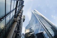 Arquitetura moderna em Londres Fotografia de Stock Royalty Free