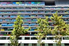 Arquitetura moderna em Madrid, Spain. Fotografia de Stock
